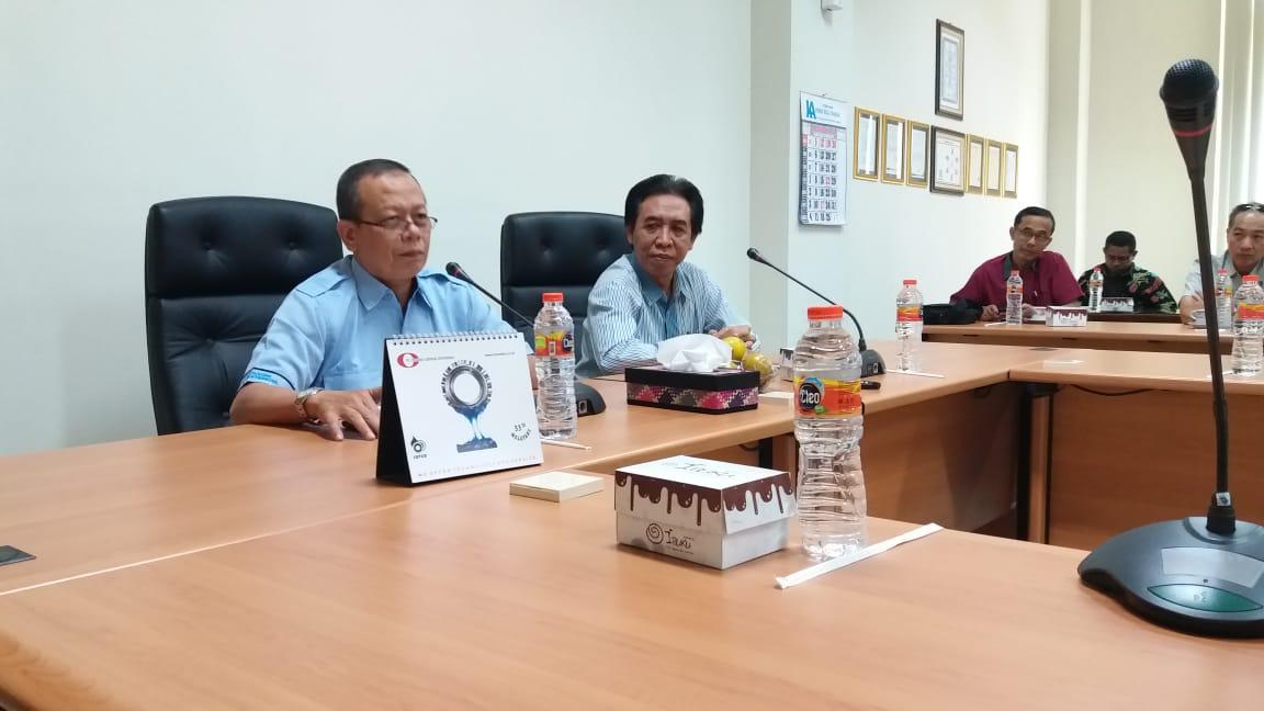 Bapak Endro Pramono (Pemimpin PG Trangkil) memberikan sambutan Rapat APINDO Kab. Pati