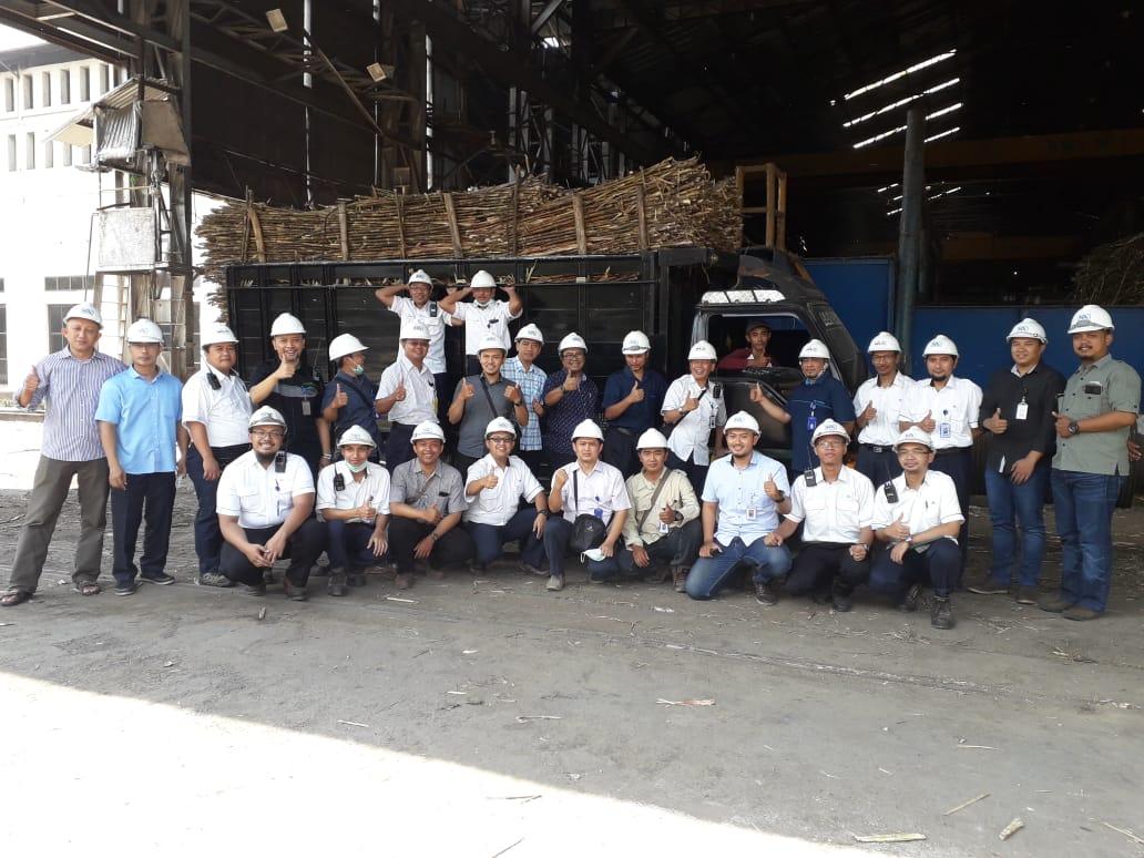 Detik-detik hari terakhir tebu digiling 11 September 2018 bersama Pemimpin dan karyawan